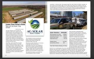 coastal solar feature in a magazine